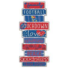 "Kansas Celebrations Stack 24"" Sign"