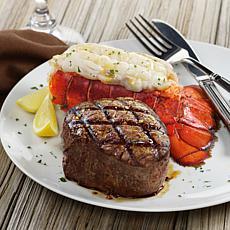 Kansas City Steaks 4-6oz Filet Mignon & 4-5oz N Atlantic Lobster Tails