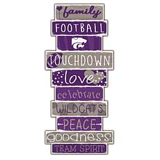 "Kansas State Celebrations Stack 24"" Sign"