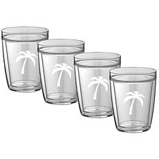 Kasualware™ 14oz. Doublewall Set of 4 Drinking Glasses