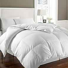 Kathy Ireland White Goose Feather and Down Twin Comforter