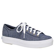 Keds Triple Kick Chambray Lace-Up Sneaker