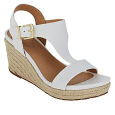 Kenneth Cole Reaction Card Espadrille Wedge T-Strap Sandal