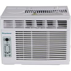 Keystone 8k BTU Window-Mounted Air Conditioner w/ Remote Control