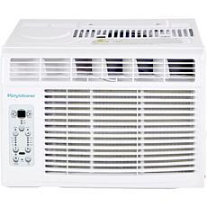 Keystone 8k BTU Window-Mounted Air Conditioner w/ Remote Control