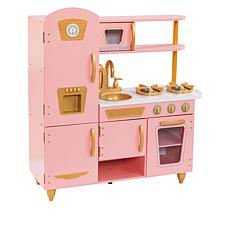 KidKraft Vintage Pink and Gold Kitchen