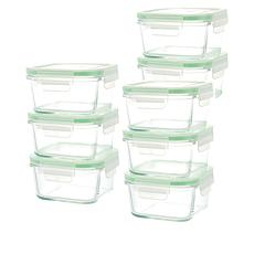 Kinetic 16-piece Glassworks Food Storage Set