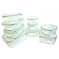 Kinetic 18-piece Glassworks Food Storage Set
