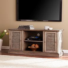 Kirstyn TV Media Console - Burnt Oak