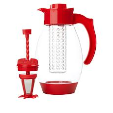 Kitchen HQ 102 fl. oz. 3-in-1 Infusing Tritan Pitcher
