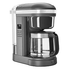 KitchenAid® 12-Cup Drip Coffee Maker with Spiral Showerhead- Dark Grey