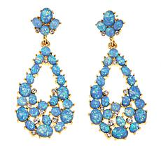 "KJL by Kenneth Jay Lane ""Hamptons"" Oval Drop Earrings"
