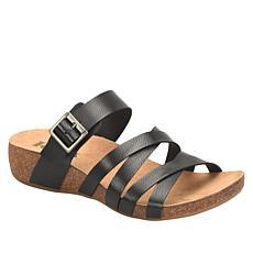 Korks Aster Comfort Slide Wedge Sandal