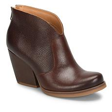 Korks Hanska Leather Back-Zip Bootie