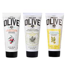 Korres 3-piece Olive Oil Body Cream Trio