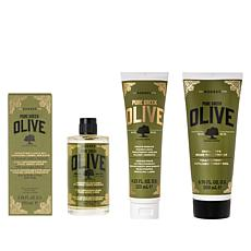 Korres 3-piece Olive Oil Skincare Youth Renewal Set