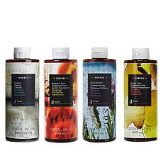 Korres 4-piece Jumbo Hydrating Shower Gel Set
