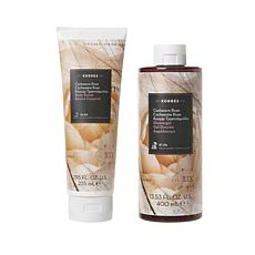 Korres Cashmere Rose Body Butter and Shower Gel Duo