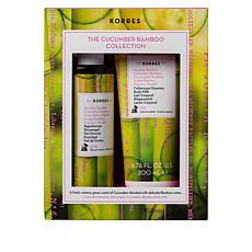 Korres Cucumber Bamboo Moisturizing 2-piece Gift Set