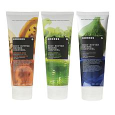 Korres Fruits Jumbo Body Butter Trio