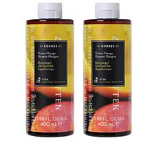Korres Guava Mango Hydrating Shower Gel Duo - 13.53 fl. oz.