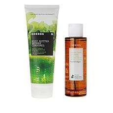 Korres Lemon Basil Body Spray and Body Butter Set