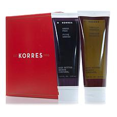 Korres Moisturizing Body Butter Duo - Parfum Fragrance