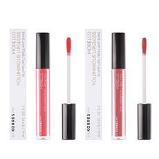 Korres Morello Voluminous Lip Gloss Duo - Pinks