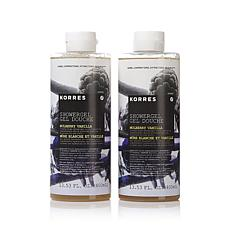 Korres Mulberry Vanilla Shower Gel Duo