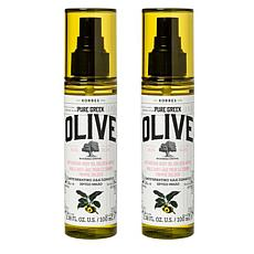 Korres Olive Oil & Golden Apple Body Oil Duo