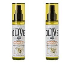 Korres Olive Oil and Honey Anti-Aging Body Oil Duo