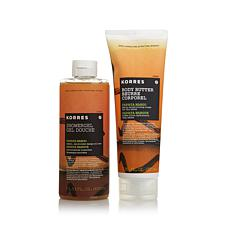 Korres Papaya Mango Body Butter & Shower Gel Duo