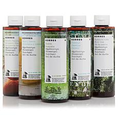 Korres Ultra-Hydrating 5-piece Shower Gel Collection