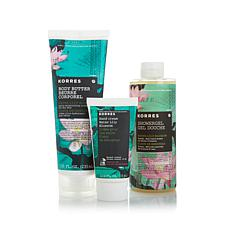 Korres Water Lily Blossom Hydration Trio