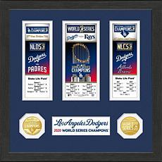 LA Dodgers 2020 World Series Champions Event Carnet Collection