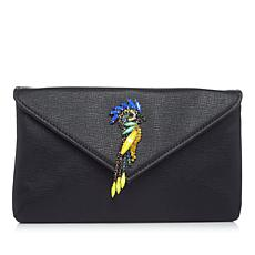La Regale Embellished Bird Clutch