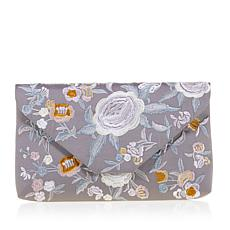 La Regale Embroidered Clutch