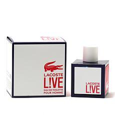 Lacoste Live Men Eau De Toilette Spray - 3.4 oz.
