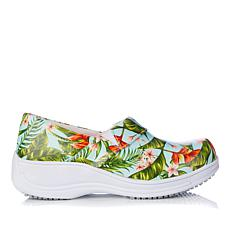Laforst Rachel Printed Leather Slip-Resistant Slip-On Shoe