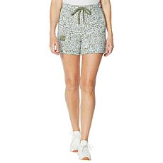 Laila Ali French Terry Pull-On Short with Pockets