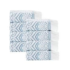 Laina Turkish Cotton 8-piece Wash Cloth Set