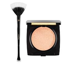 Lancôme Peach Highlighter and Brush Set