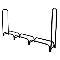 Landmann 8' Firewood Rack with Middleweight Zipperless Cover