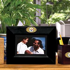 Landscape Black Picture Frame - Pittsburgh Steelers