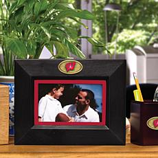 Landscape Black Picture Frame - Wisconsin, College
