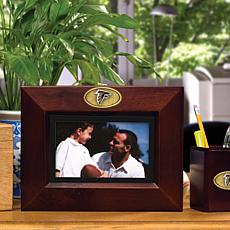 Landscape Brown Picture Frame - Atlanta Falcons - NFL