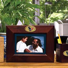 Landscape Brown Picture Frame - Houston Texans - NFL