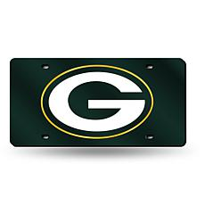 Laser-Engraved Green License Plate - Green Bay Packers