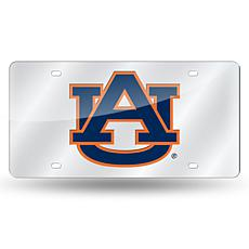 Laser Tag License Plate - Auburn University (Silver)
