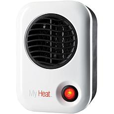 Lasko MyHeat 200-Watt Personal Ceramic Heater - White